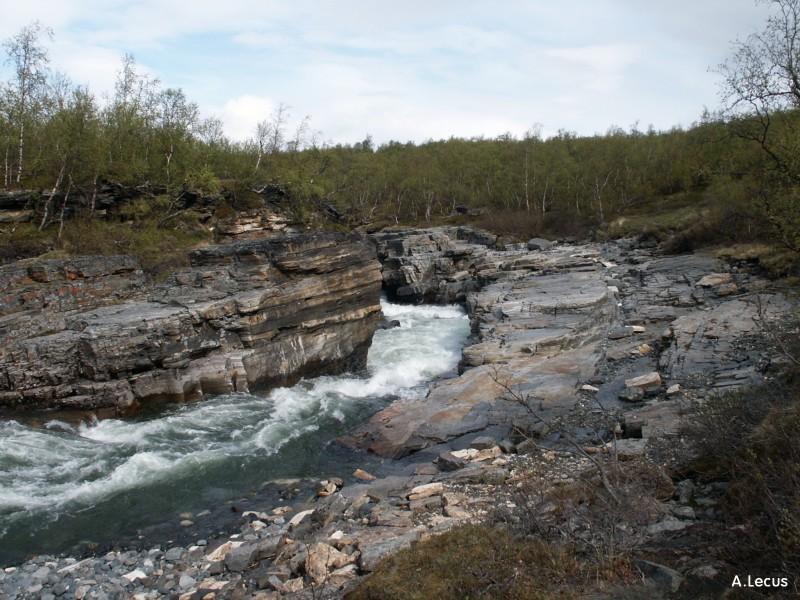 Canyon à Abisko