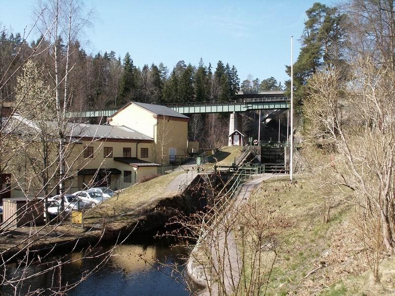 Pont sur le canal du Dalsland