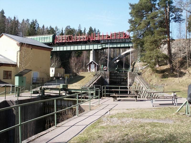 Ecluses sur le canal du Dalsland