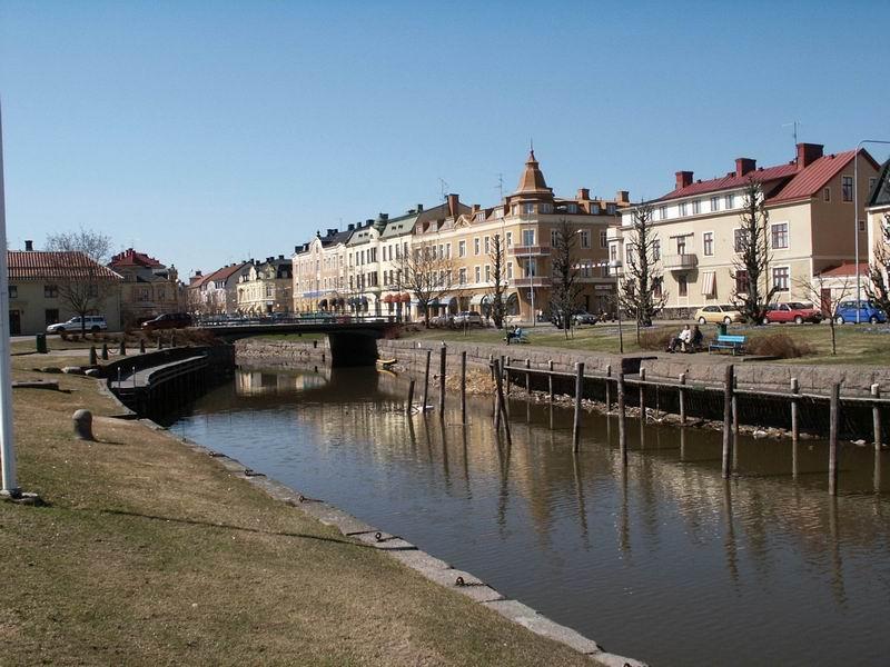 Rivière à Åmål