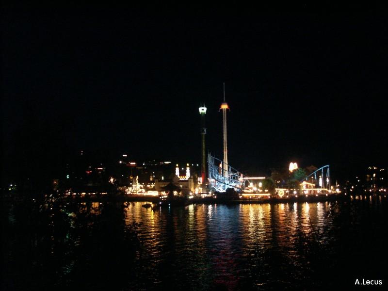 Gröna Lund de nuit