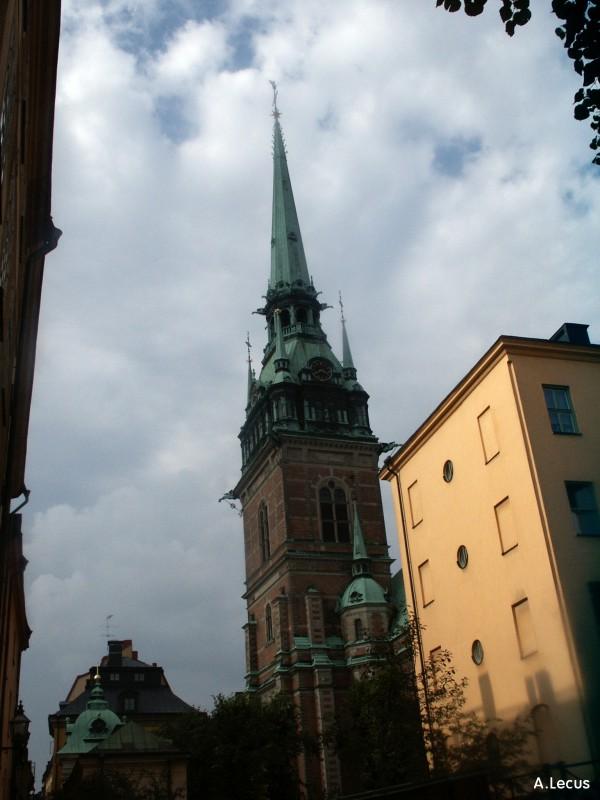 Clocher de Tyskakyrkan