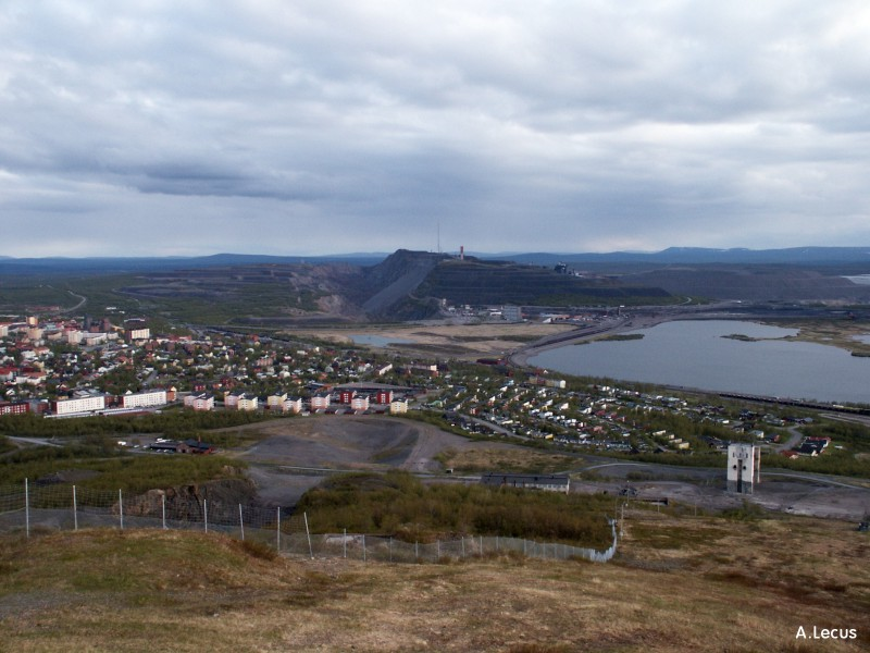 Mine de fer de Kiruna