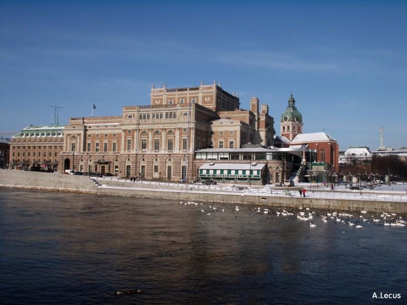 Opéra et Jakobskyrka