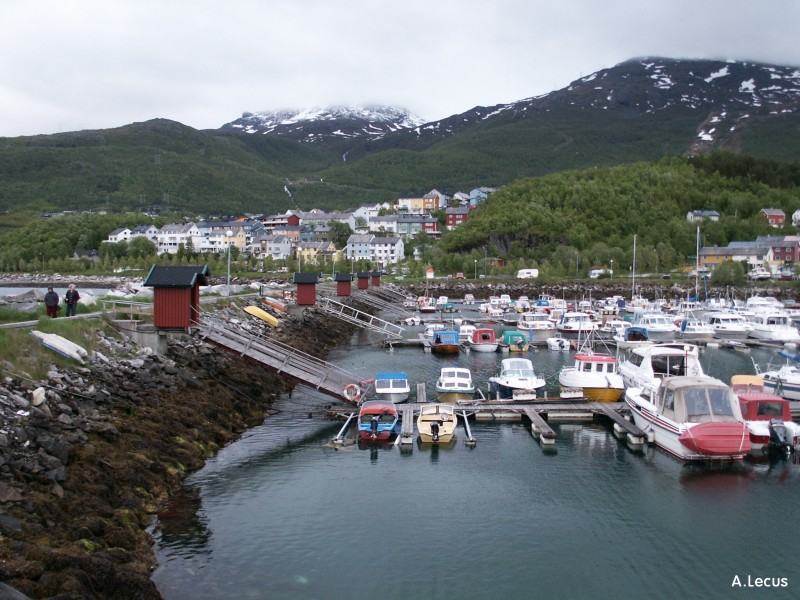 Port de plaisance de Narvik