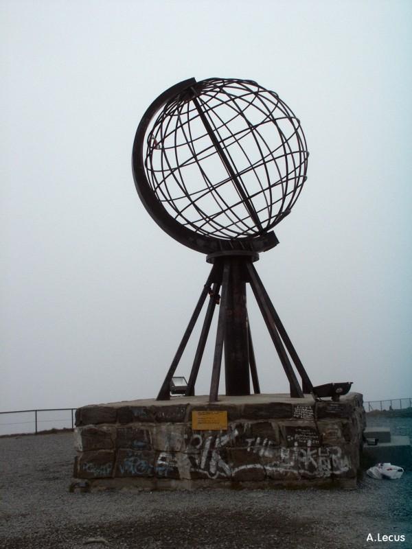 Globe au Cap Nord