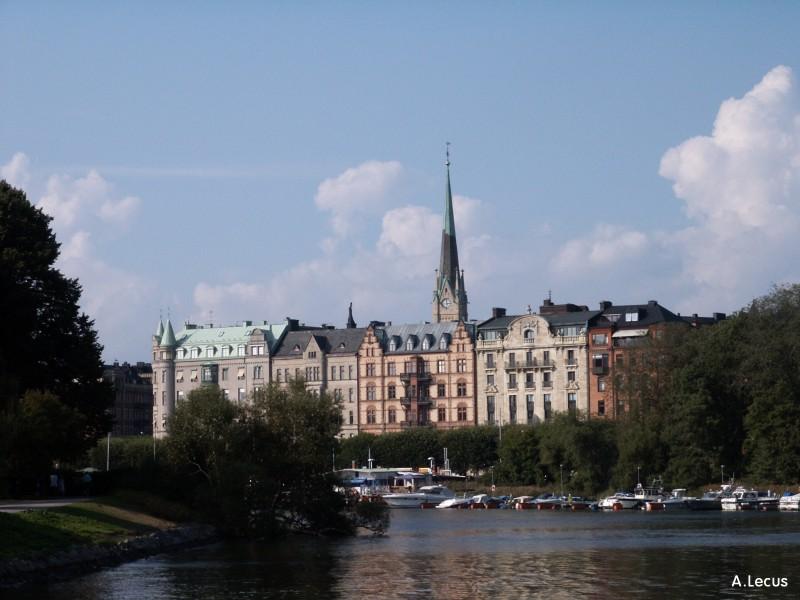 Depuis Djurgården