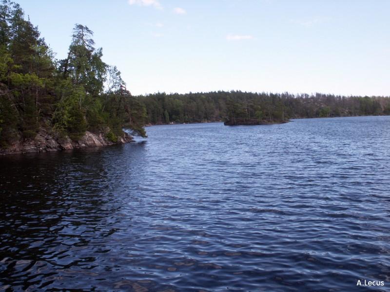 Bord du lac