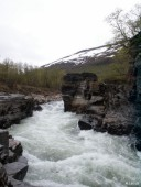 Canyon in Abisko