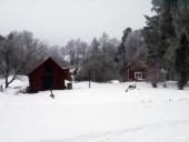 Maisons suédoises.