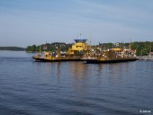 Ferry in Vaxholm