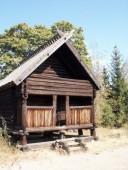 Maison en bois.