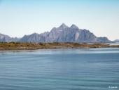 Vue vers Austvågøy