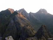 Montagnes abrupte