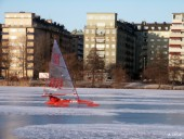 Ice yacht
